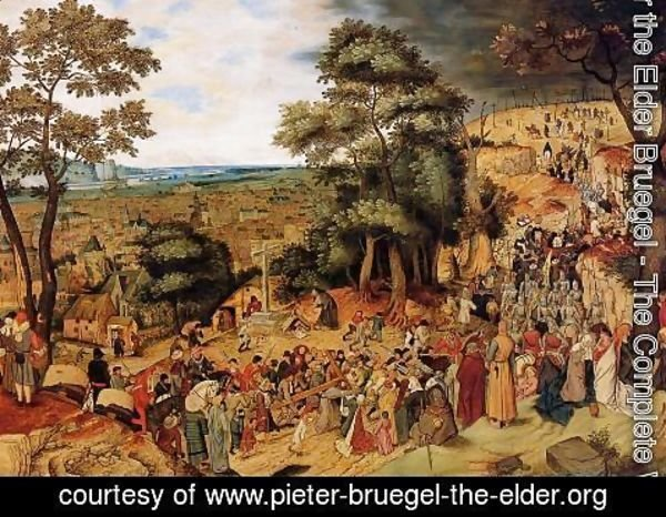 Pieter the Elder Bruegel - The Way of the Cross