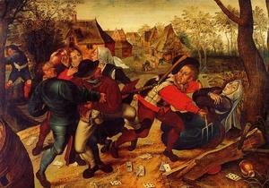 Pieter the Elder Bruegel - Peasant Brawl