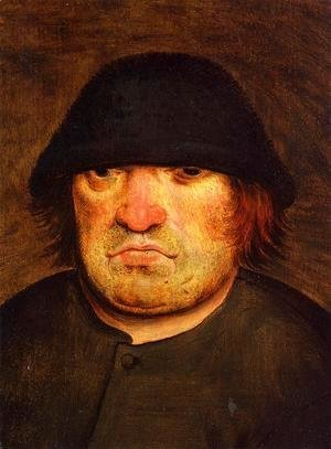 Pieter the Elder Bruegel - Peasant's Head