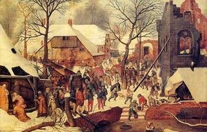 Pieter the Elder Bruegel - The Adoration of the Magi in the Snow