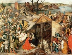 Pieter the Elder Bruegel - The Adoration of the Magi