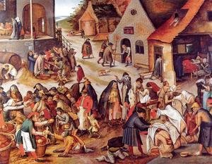 Pieter the Elder Bruegel - The Seven Acts of Charity
