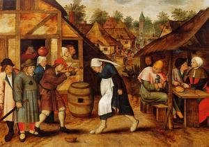 Pieter the Elder Bruegel - The Egg Dance