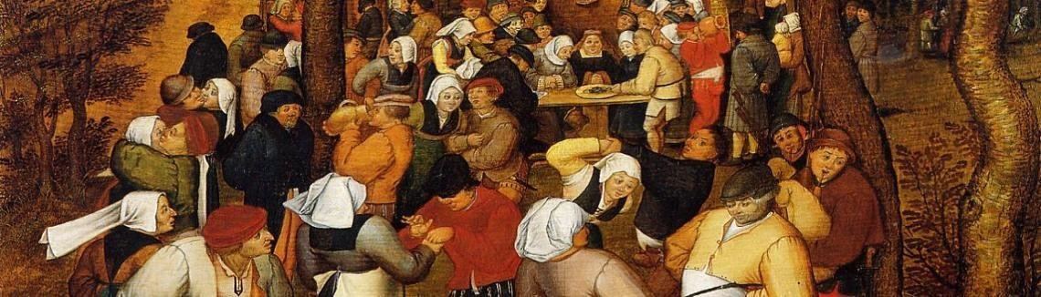 Pieter the Elder Bruegel - The Peasant Wedding