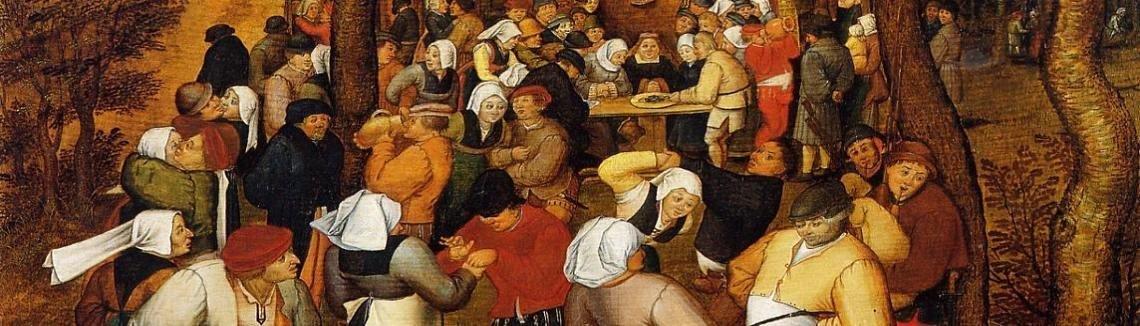 Pieter The Elder Bruegel Peasant Wedding
