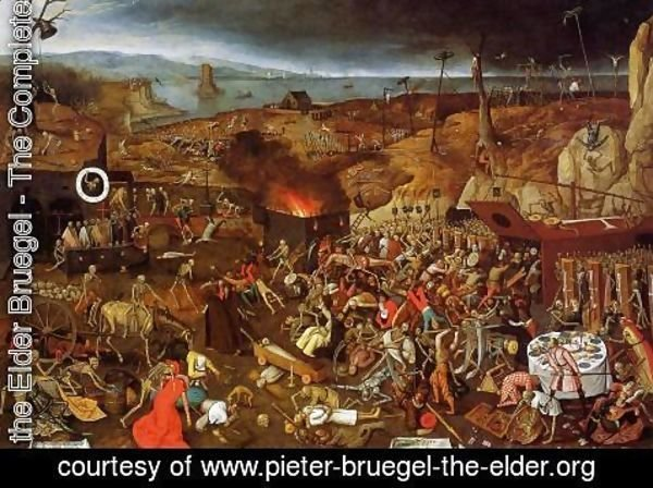 Pieter the Elder Bruegel - The Triumph of Death