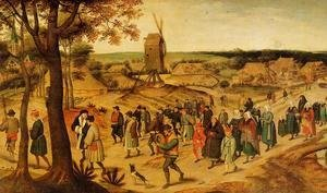 Pieter the Elder Bruegel - The Wedding Procession