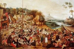 Pieter the Elder Bruegel - The Dance around the May Pole