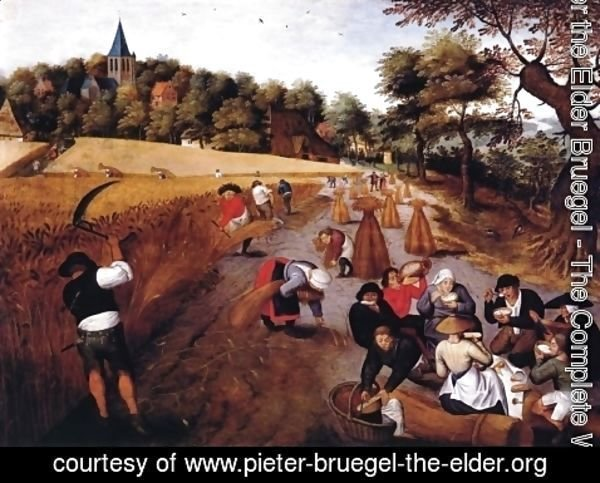 Pieter the Elder Bruegel - The Harvest
