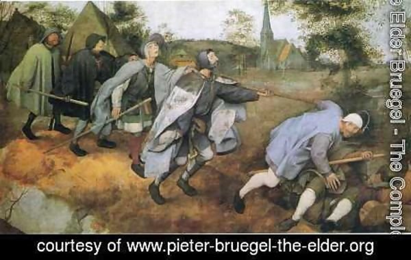 Pieter the Elder Bruegel - The Parable of the Blind Leading the Blind