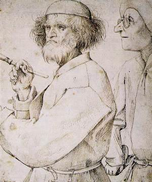 Pieter the Elder Bruegel - The Painter and the Connoisseur