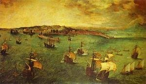 Pieter the Elder Bruegel - The Bay of Naples