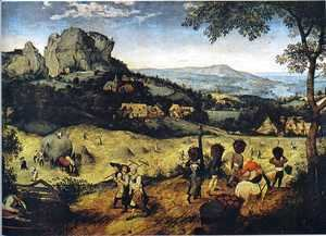 Pieter the Elder Bruegel - Haymaking