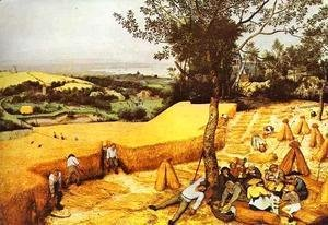 Pieter the Elder Bruegel - The Harvesters