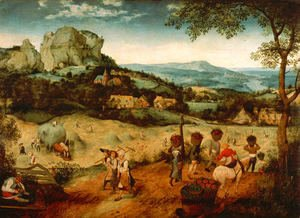 Pieter the Elder Bruegel - Hay-Harvest
