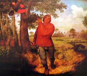 Pieter the Elder Bruegel - The nest thief