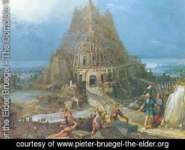 Pieter the Elder Bruegel - Tower of Babel