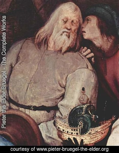 Pieter the Elder Bruegel - Adoration of the Magi, detail 1