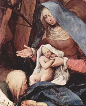 Adoration of the Magi, detail 2