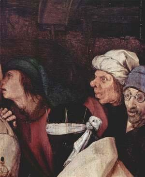 Pieter the Elder Bruegel - Adoration of the Magi, detail 4
