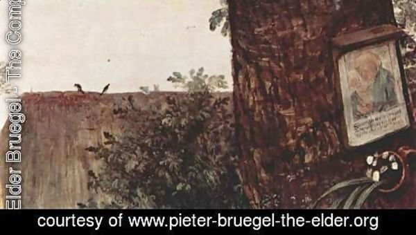 Pieter the Elder Bruegel - Farmers dance, Detail 4