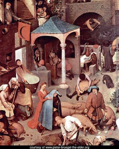 Netherlandish Proverbs (detail 1)