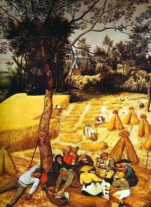 Pieter the Elder Bruegel - The Corn Harvest (August) 2
