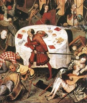 Pieter the Elder Bruegel - The Triumph of Death (detail 1)