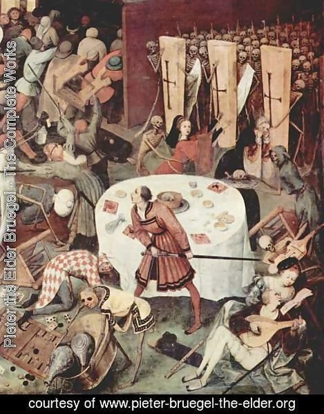 Pieter the Elder Bruegel - The Triumph of Death (detail 3)