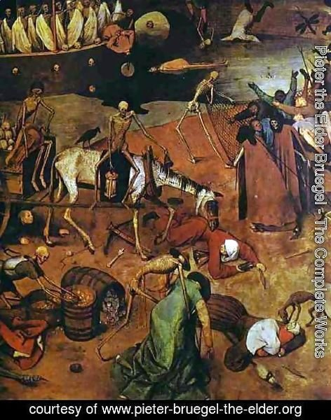 Pieter the Elder Bruegel - The Triumph of Death (detail 4)