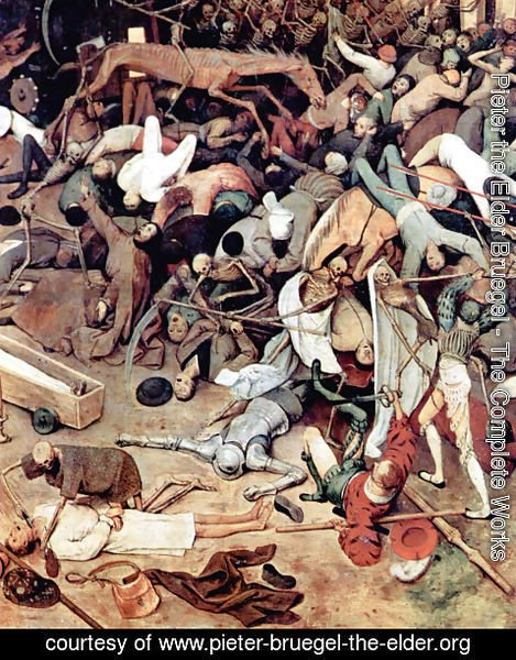 Pieter the Elder Bruegel - The Triumph of Death (detail 6)