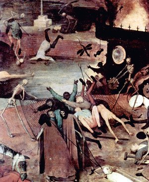 Pieter the Elder Bruegel - The Triumph of Death (detail 8)