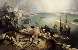 Pieter the Elder Bruegel - Landscape with the Fall of Icarus