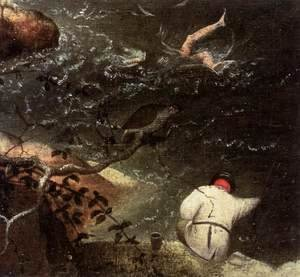 Landscape with the Fall of Icarus (detail) 2
