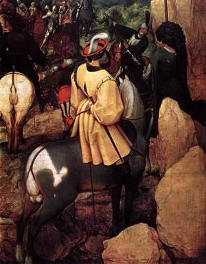 Pieter the Elder Bruegel - The Conversion of Saul (detail)