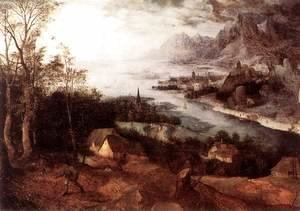 Pieter the Elder Bruegel - Landscape with the Parable of the Sower