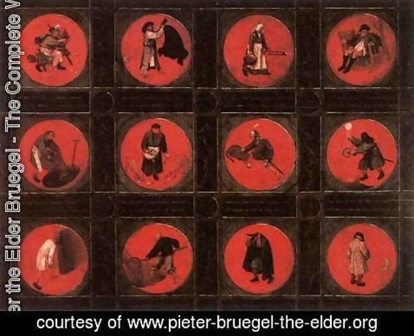 Pieter the Elder Bruegel - Twelve Proverbs
