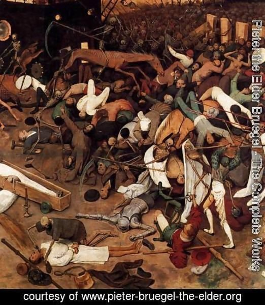 Pieter the Elder Bruegel - The Triumph of Death (detail)