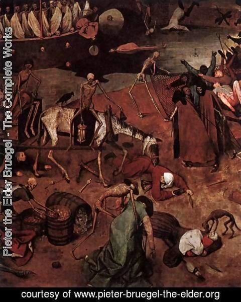 Pieter the Elder Bruegel - The Triumph of Death (detail) 2