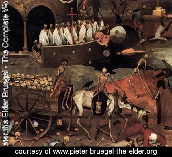 Pieter the Elder Bruegel - The Triumph of Death (detail) 3