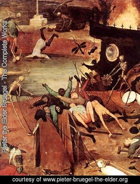 Pieter the Elder Bruegel - The Triumph of Death (detail) 4