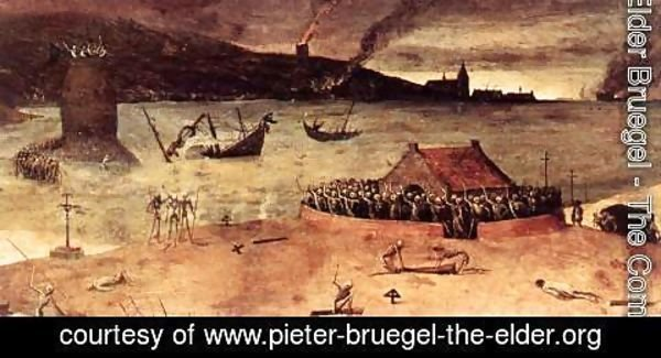 Pieter the Elder Bruegel - The Triumph of Death (detail) 5