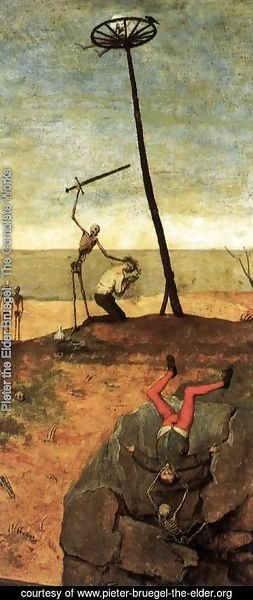 Pieter the Elder Bruegel - The Triumph of Death (detail) 6