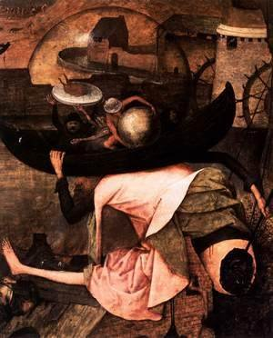Pieter the Elder Bruegel - Dulle Griet (detail) 2