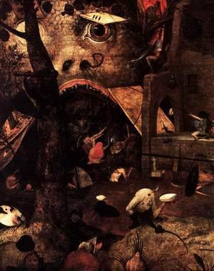 Pieter the Elder Bruegel - Dulle Griet (detail) 3