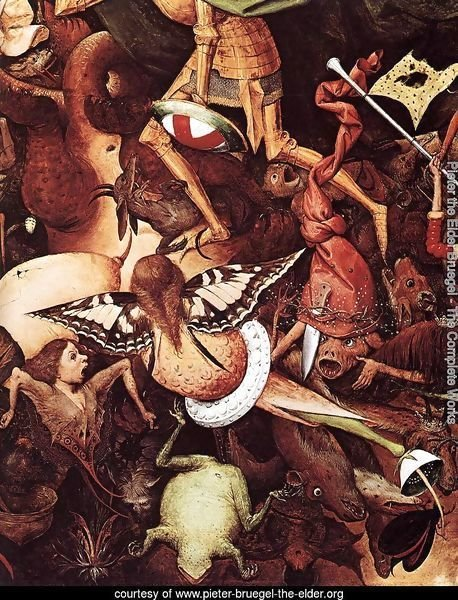 The Fall of the Rebel Angels (detail)