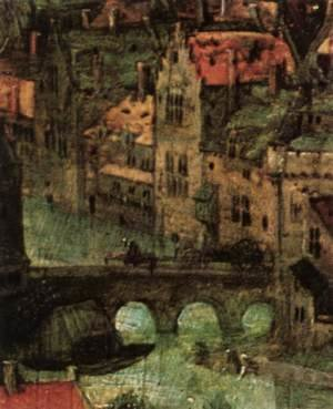 Pieter the Elder Bruegel - The Tower of Babel (detail) 5