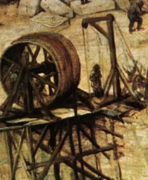 Pieter the Elder Bruegel - The Tower of Babel (detail) 9