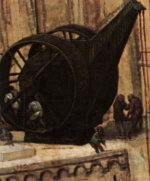 Pieter the Elder Bruegel - The Tower of Babel (detail) 10
