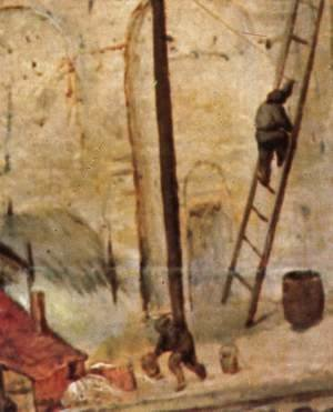 Pieter the Elder Bruegel - The Tower of Babel (detail) 13